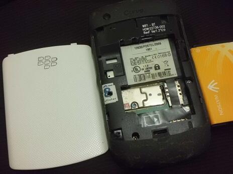 Blackberry Gemini 8520 & Keppler 3G 9300 GSM White 22nya MURAH 600rb-an Grab Fast Gan