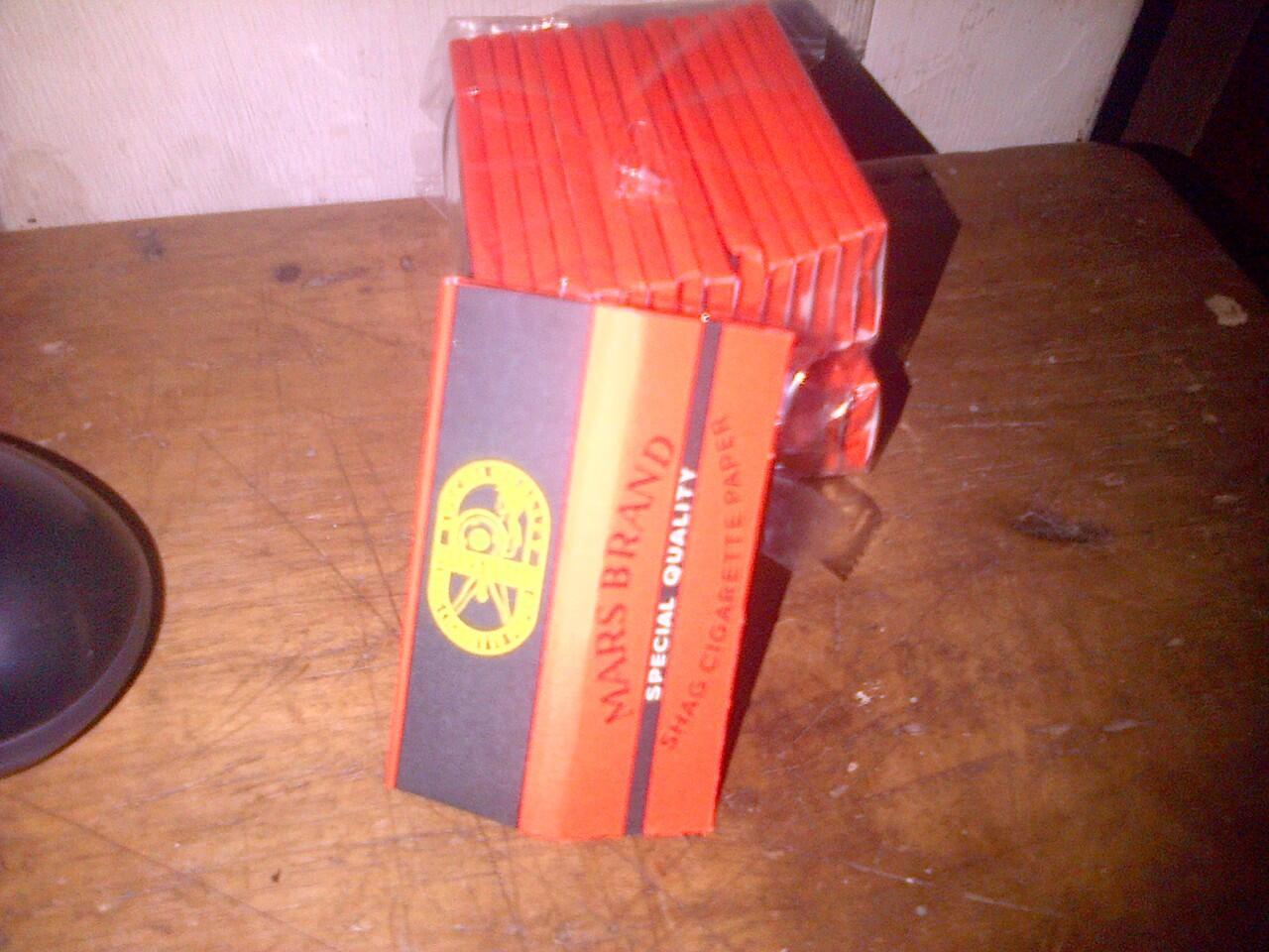Bako dan Papir Mars Brand , Bako Warning