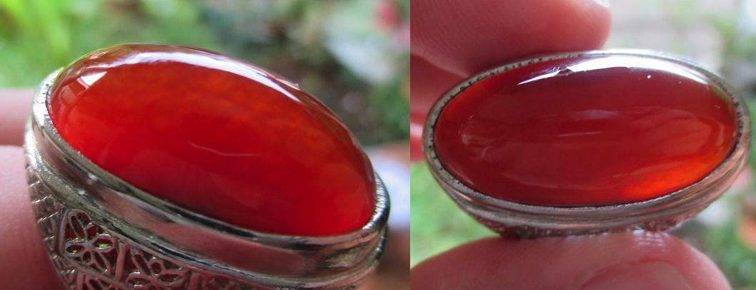 pandan merah kristal .barang lama