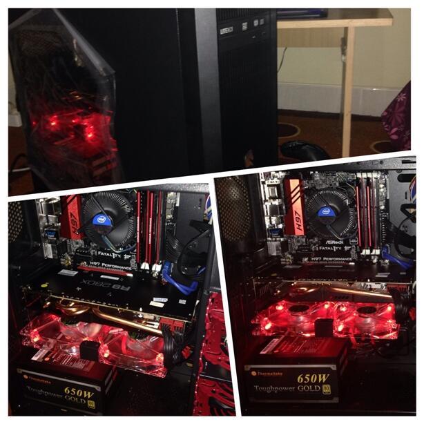 PC CPU Gaming - i7 4790, Radeon R9 280X, Asrock Fatal1ty H97 Performance, SSD 128GB