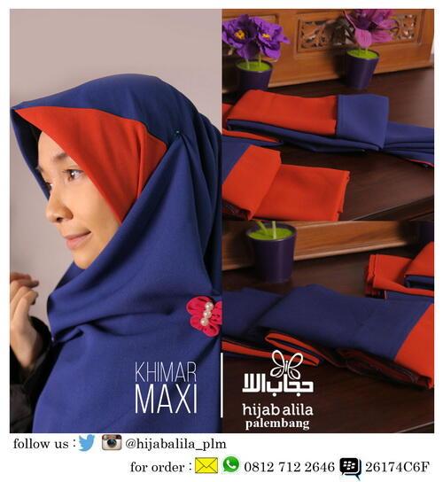 Distributor Hijab Syar'i Hijab Alila Palembang