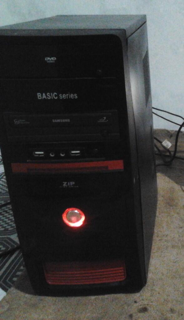 "Pc dual core E5400,ram 2GB ddr2,vga 9400gt 1gb,hdd 160gb,lcd 18"""
