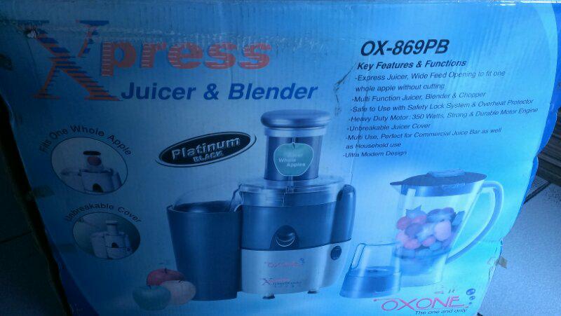 Blender+Juicer & Oven by Oxone Sisa Toko