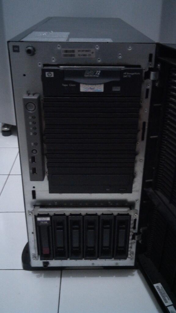 Server Hp Proliant ML 350 G5 Intel Xeon QuadCore Cache 12 MB bismilahi