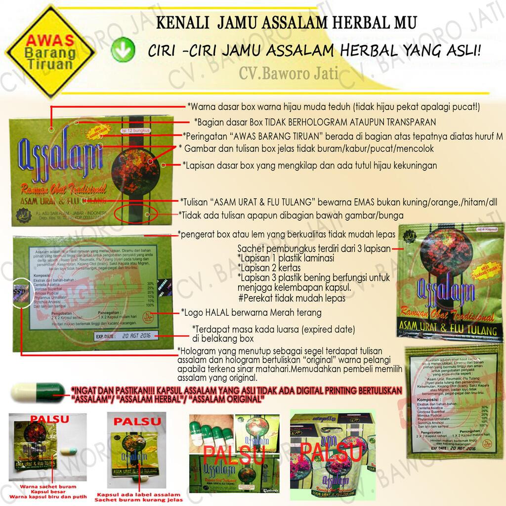 Jamu Herbal Assalam