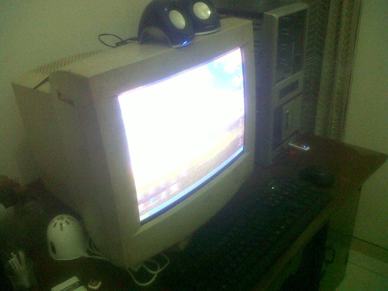 """Paket CPU Game+Desain Core2Duo, VGA 512MB, Monitor 17"""""""