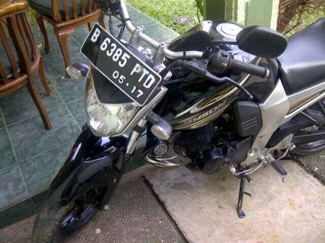 WTS: Yamaha Byson 2012 hitam mulus