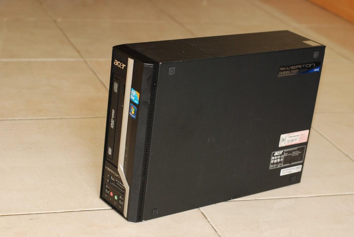 ACER Mini PC Core i3 Nyaman Buat Pake Gan ....