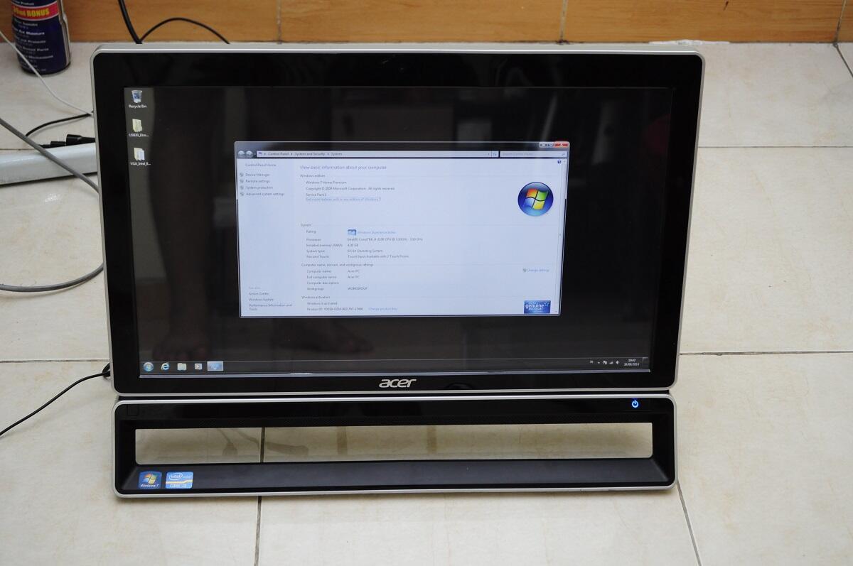 """ACER AIO Z3771 Core i3 TouchScreen 21'5"""""""