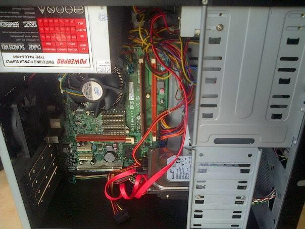 Murah Cpu Core 2 Duo E7500 2,93 Ghz/hdd 250gb/ram 2gb Mantap