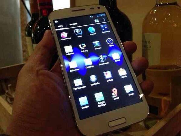 sale! android advan S5H quadcore 1.2Ghz kamera 8mp gress like new..