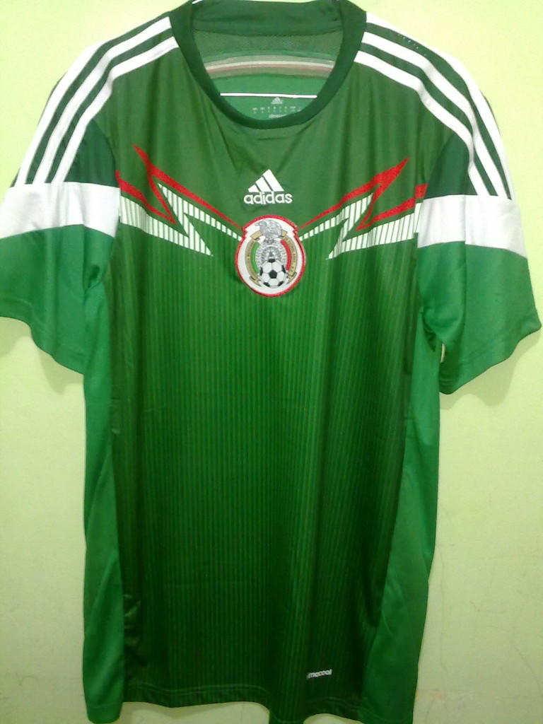 Jersey Grade Ori Mexico Home World Cup 2014