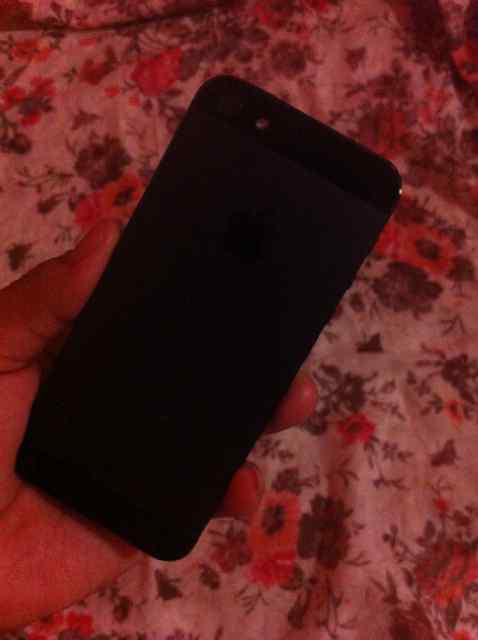 Jual Iphone 5 16Gb black solid
