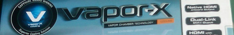 SAPPHIRE VAPOR X HD 4870 1GB GDDR5 - BANDUNG