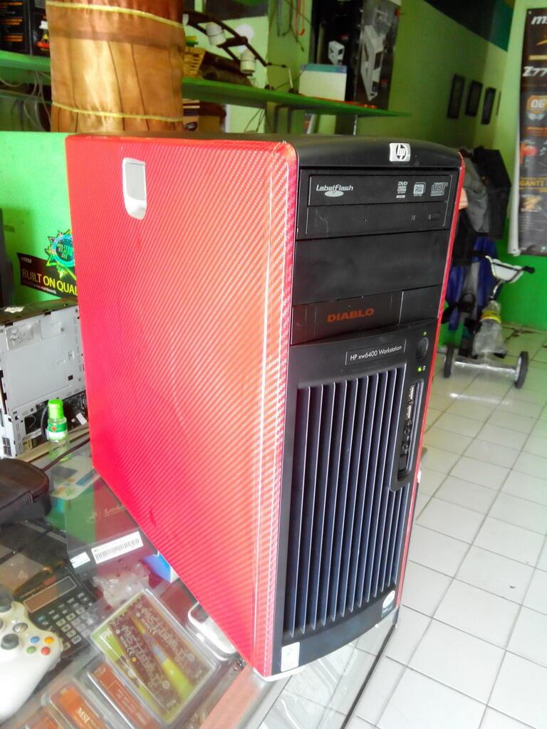 KOMPUTER SERVER HP WORKSTATION XW6400 OCTA CORE ( 8CPU ) CUMA 2JTAN