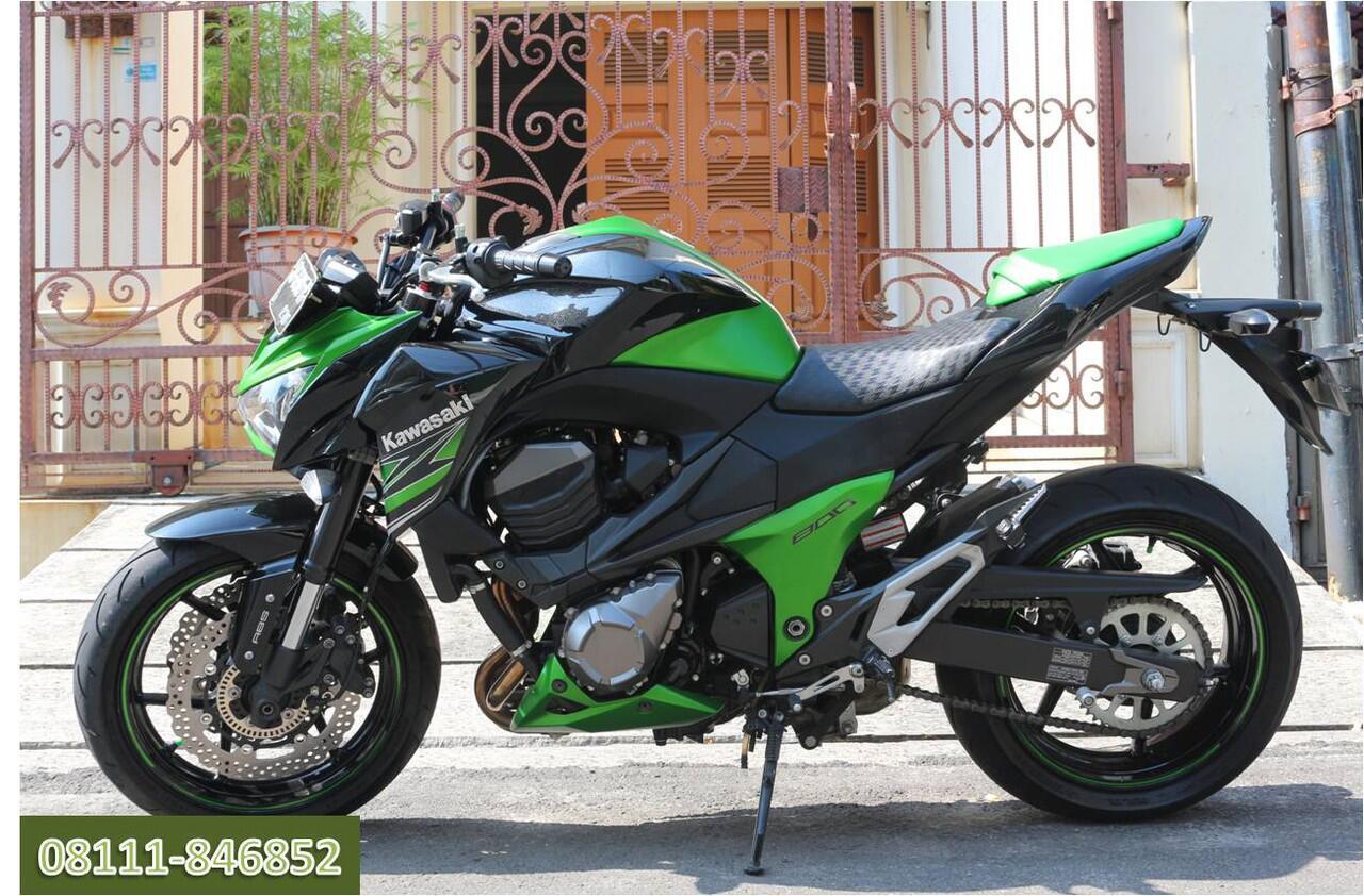 Terjual Kawasaki Z800 Muluss Like New No Zx6 Er6 R6