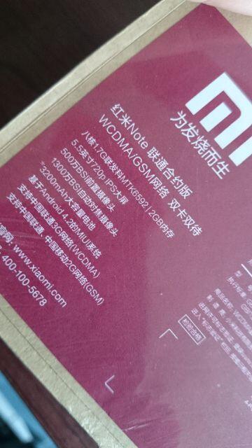 Xiaomi RedMi Note BNIB Octa Core 1.7/2GBRAM COD/RekBer