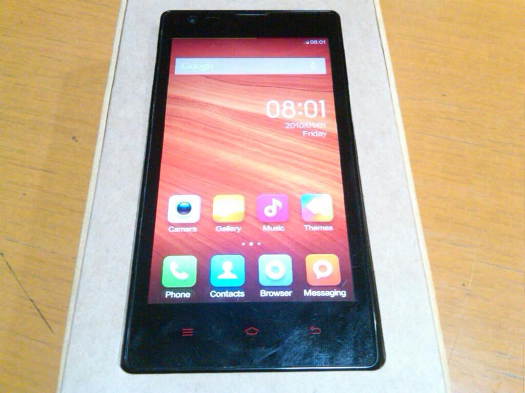 Xiaomi Hongmi/Redmi Black Paten