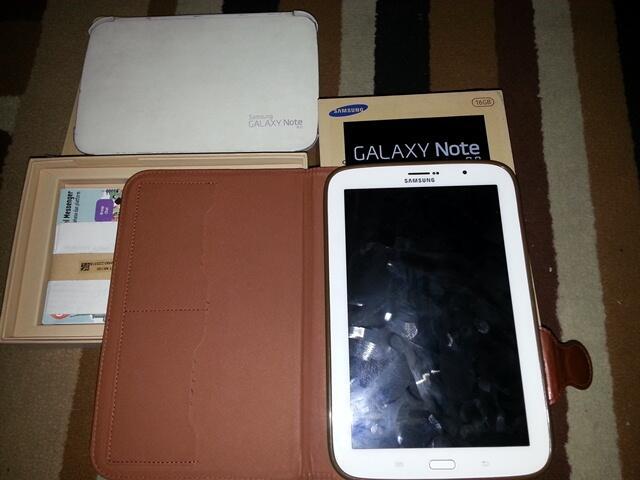 Samsung Note 8 (n5100) white mulus, murah