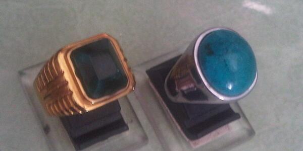 sepasang cincin bacan doko & palamea tampil elegan untuk kantoran