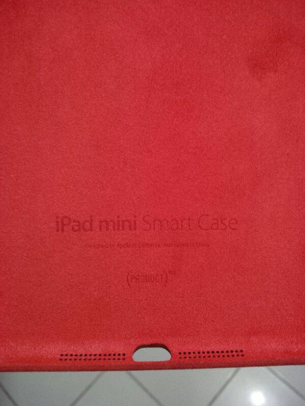 SmartCase Ori iPadMini Red product 2nd,limited,mulus
