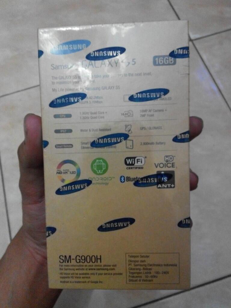Samsung Galaxy S5 Warna Putih Garansi Resmi Sein 1 thn Murah Saja [BARU]