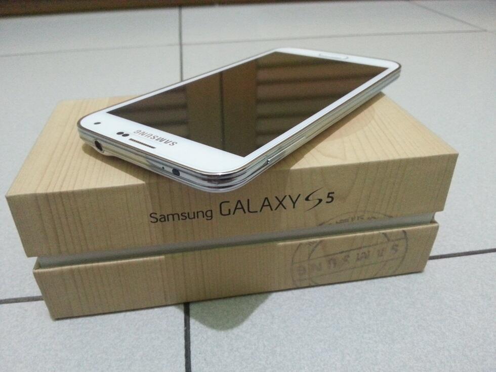 Smasung Galaxy S5 White