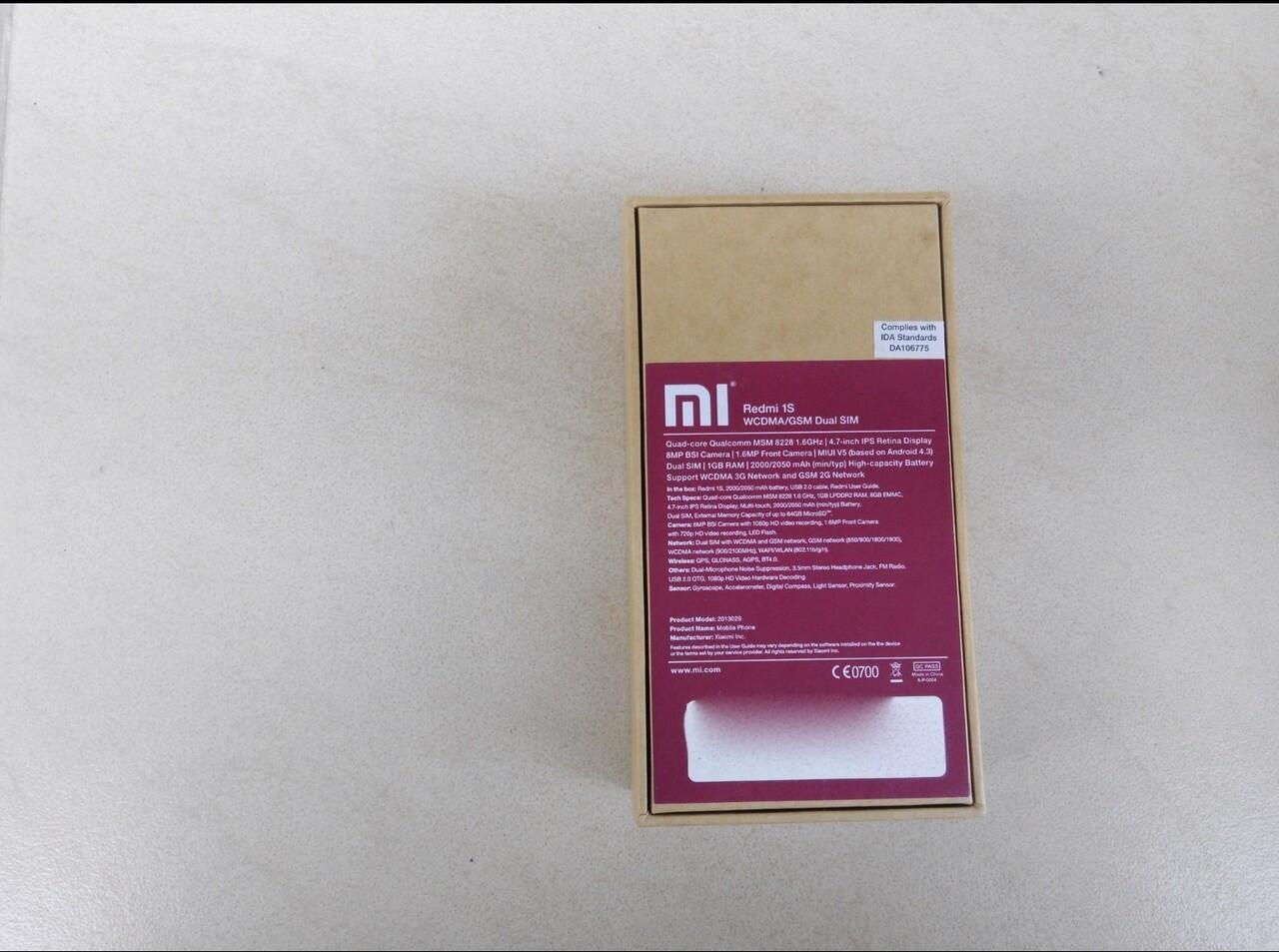 Xiaomi Redmi 1S Cuci Gudang