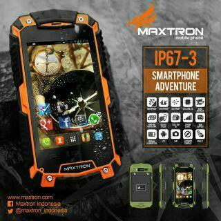 Maxtron IP67-3..Outdoor Android jelybeen bbm support,,ante air,ante benturan
