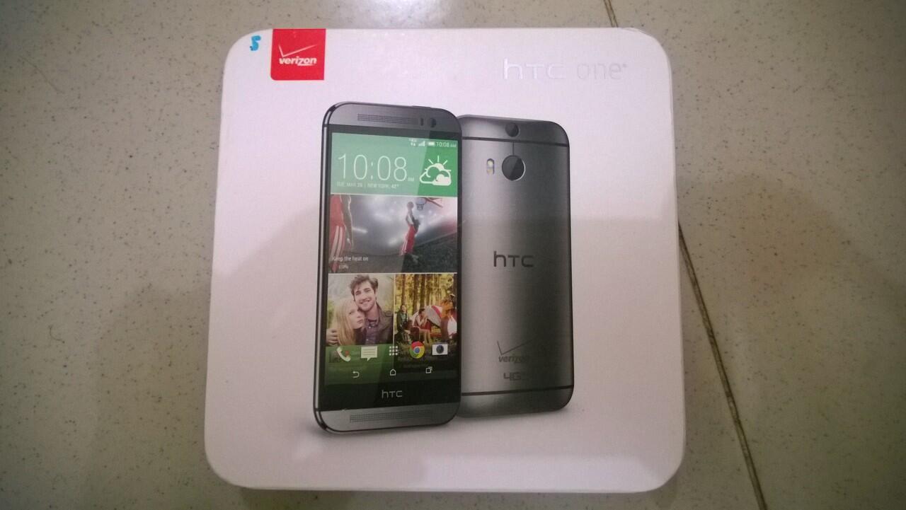 HTC One M8 Verizon 32GB COD Bandung Only
