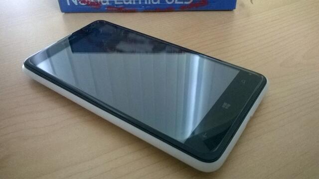 Nokia Lumia 625 Putih, umur 1 minggu