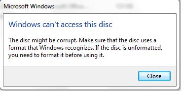 Berhasil mount file iso tapi tidak bisa terbaca di ...