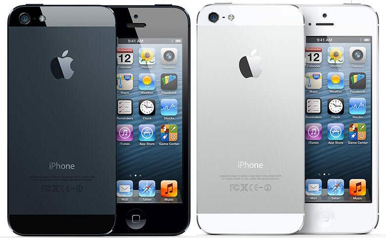 WTB Iphone 5 16GB White Lengkap dan Black Batang COD Bandung