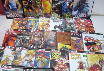 Terjual Paket Manga Scan Bahasa Indonesia Komplit !!