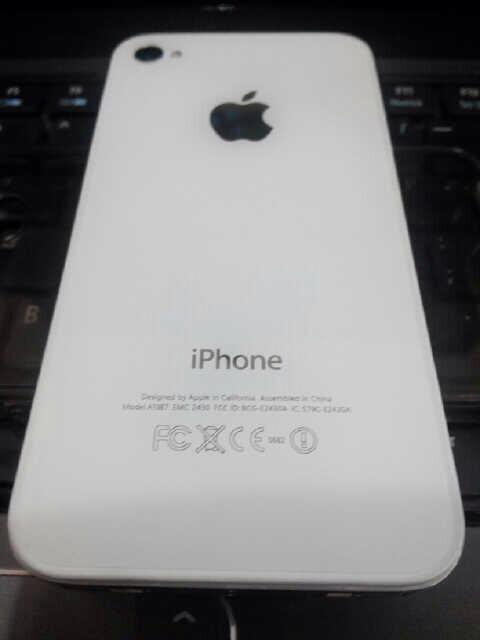 iphone 4s white like new baru 3bln pakai