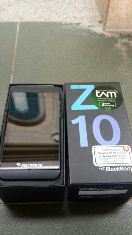 BLACKBERRY Z10 BLACK TAM