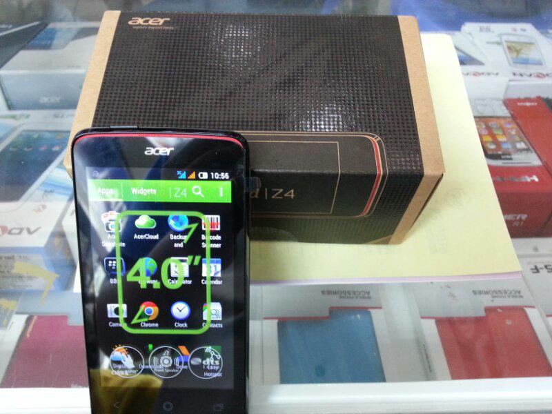 Acer Z4 NEW - Garansi resmi Acer 3 th