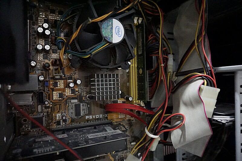 CPU Core2duo E4400 Asus P5vd2x Nvidia GT210 Komputer Murah