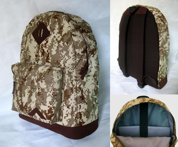 Ransel / Backpack Army Edition , AtoZ Kanvas Series