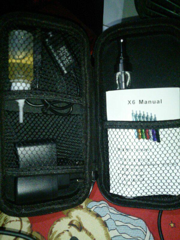 Vaporizer x6 !! newbie ?? need starter Kit ? check this Thread Lets Vaping !
