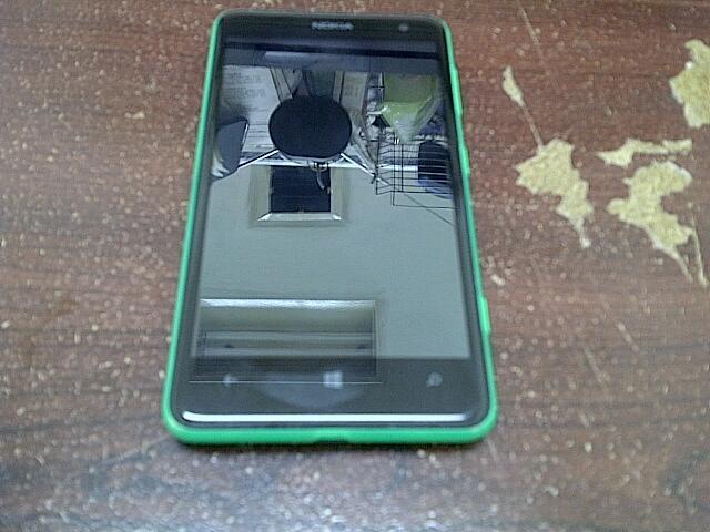 Jual cepet aja Nokia Lumia 625 green msh garansi muluss