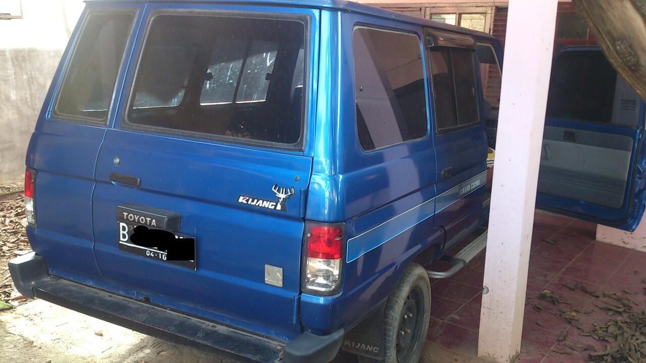 Toyota Kijang Kf 50 Long 1500 Cc Biru Jatibening Bekasi