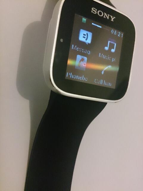 Sony Smartwatch Gen-1, Like New, Simpanan (Jakarta,Bekasi, Surabaya)