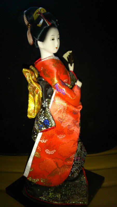 Terjual Boneka kimono jepang asli beli di jepang  213ada0990