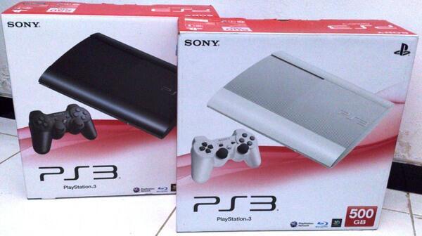 Playstation 3 Fat 160 GB dan Slim 500gb