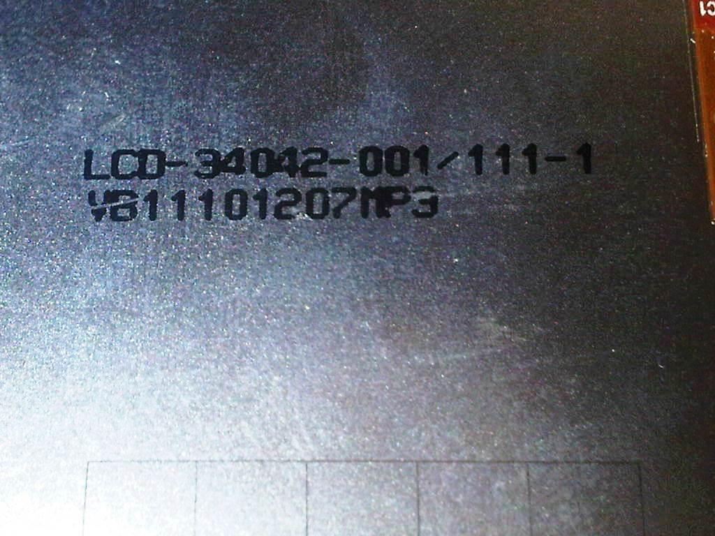 LCD Blackberry DAKOTA (9900) Kode 001 Warna Putih