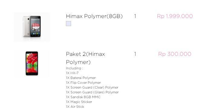 [OFFICIAL LOUNGE] HIMAX POLYMER ANDROID REAL OCTACORE HARGA TERJANGKAU