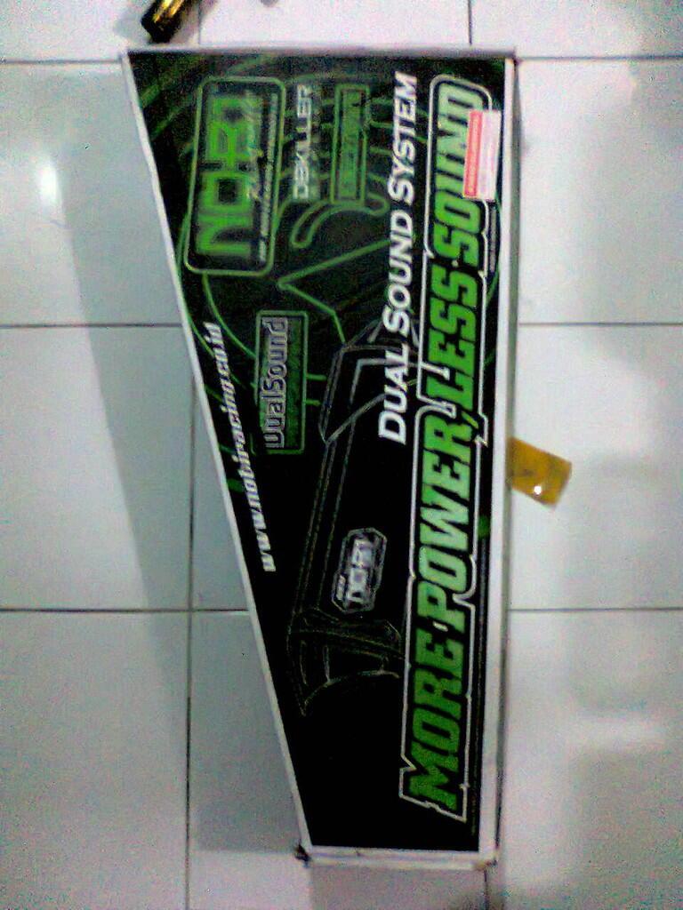 Knalpot Byson NOB1/NOBI Neo SS dual sound (Bandung)