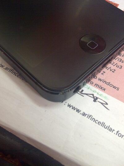second iphone 5 16Gb grs resmi tam ms 10bln