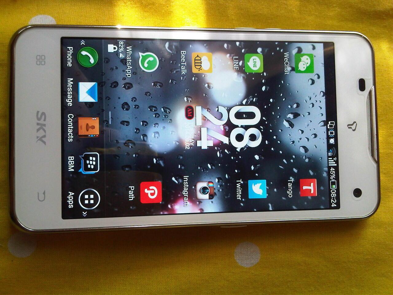 SKY VEGA IM-A800S KOREAN 4G LTE SMARTPHONE MURAHH GANN